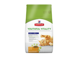 HILL'S SCIENCE PLAN FELINE ADULT 7+ YOUTHFUL VITALITY CHICKEN WITH RICE KATTEMAD