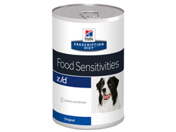 HILL'S PRESCRIPTION DIET CANINE Z/D FOOD SENSITIVITIES HUNDEFÔR