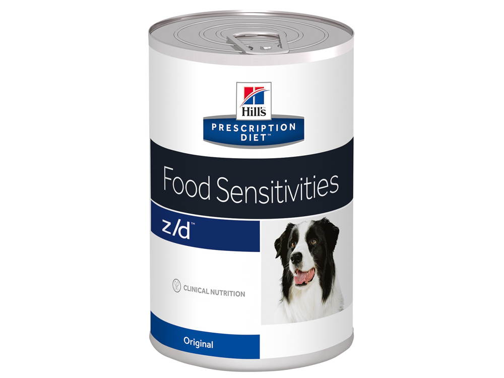 HILL'S PRESCRIPTION DIET CANINE Z/D FOOD SENSITIVITIES KOIRANRUOKA