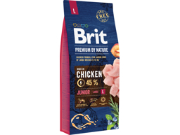 BRIT PREMIUM BY NATURE JUNIOR LARGE HUNDEFODER
