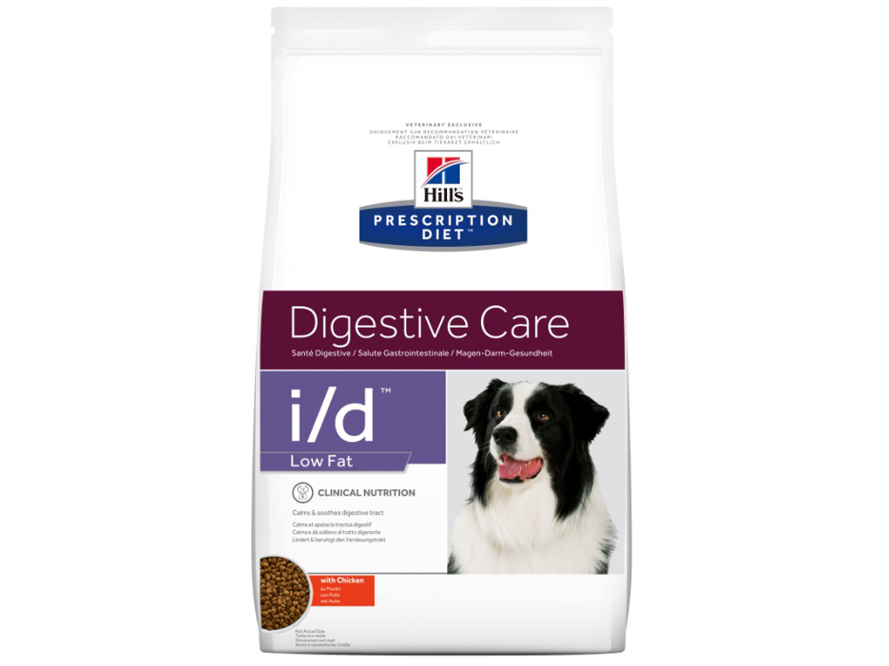 HILL'S PRESCRIPTION DIET CANINE I/D DIGESTIVE CARE LOW FAT KOIRANRUOKA