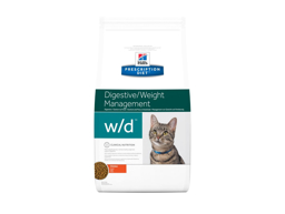 HILL'S PRESCRIPTION DIET FELINE W/D DIGESTIVE/WEIGHT MANAGEMENT WITH CHICKEN KATTEMAD
