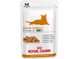 ROYAL CANIN VETERINARY CARE NUTRITION FELINE SENIOR CONSULT STAGE 2 KATTEMAT