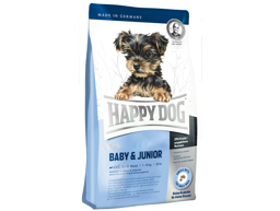 HAPPY DOG MINI BABY/JUNIOR HUNDEFÔR