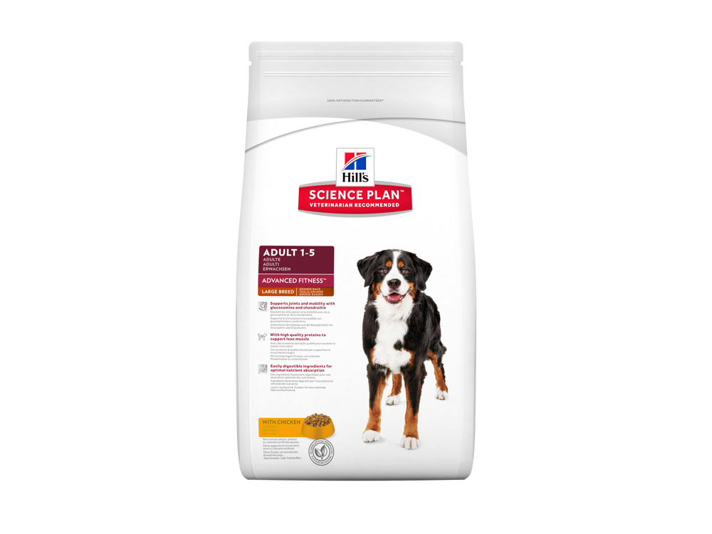 HILL'S SCIENCE PLAN CANINE ADULT ADVANCED FITNESS LARGE BREED WITH CHICKEN KOIRANRUOKA