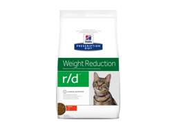 HILL'S PRESCRIPTION DIET FELINE R/D WEIGHT REDUCTION WITH CHICKEN KATTEMAD