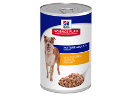 HILL'S SCIENCE PLAN CANINE MATURE ADULT 7+ SAVOURY CHICKEN HUNDFODER