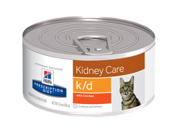 HILL'S PRESCRIPTION DIET FELINE K/D KIDNEY CARE WITH CHICKEN KATTMAT