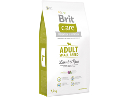 BRIT CARE ADULT SMALL LAM OG RIS HUNDEFODER