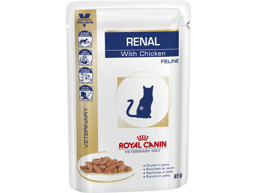 ROYAL CANIN VETERINARY DIET FELINE RENAL WITH CHICKEN KATTEMAD