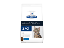 HILL'S PRESCRIPTION DIET FELINE Z/D ALLERGY & SKIN CARE ORIGINAL KATTEMAD