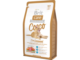 BRIT CARE GRAIN-FREE COCCO GOURMAND AND OG LAKS KATTEMAD