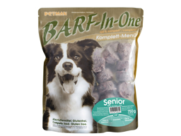 PETMAN BARF IN ONE SENIOR HUNDEFODER