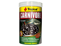 TROPICAL CARNIVORE FISKFODER