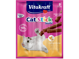 VITAKRAFT CAT STICK FJERKRÆ OG LEVER