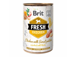 BRIT FRESH CHICKEN & SWEET POTATO HUNDEFODER
