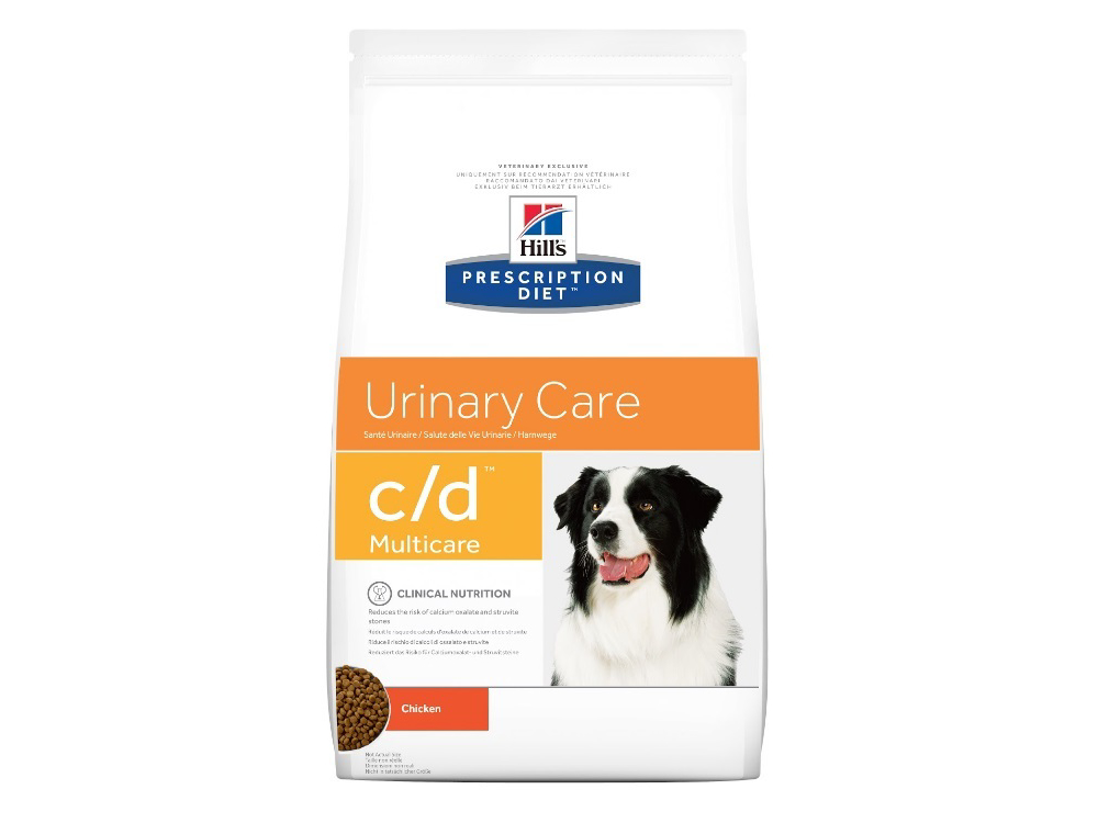 HILL'S PRESCRIPTION DIET CANINE C/D URINARY CARE MULTICARE WITH CHICKEN HUNDEFODER