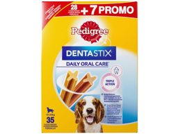 PEDIGREE DENTASTIX HUNDEGODBID BONUS
