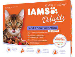 IAMS ADULT LAND AND SEA SÅS KATTMAT