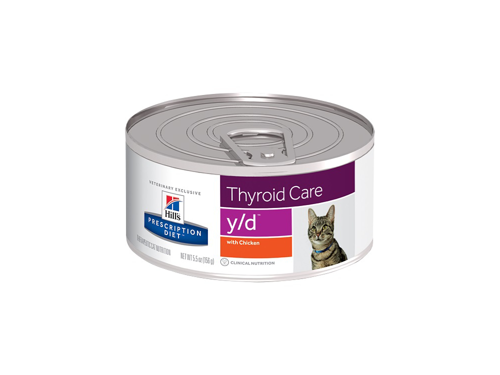 HILL'S PRESCRIPTION DIET THYROID CARE Y/D KATTEMAD
