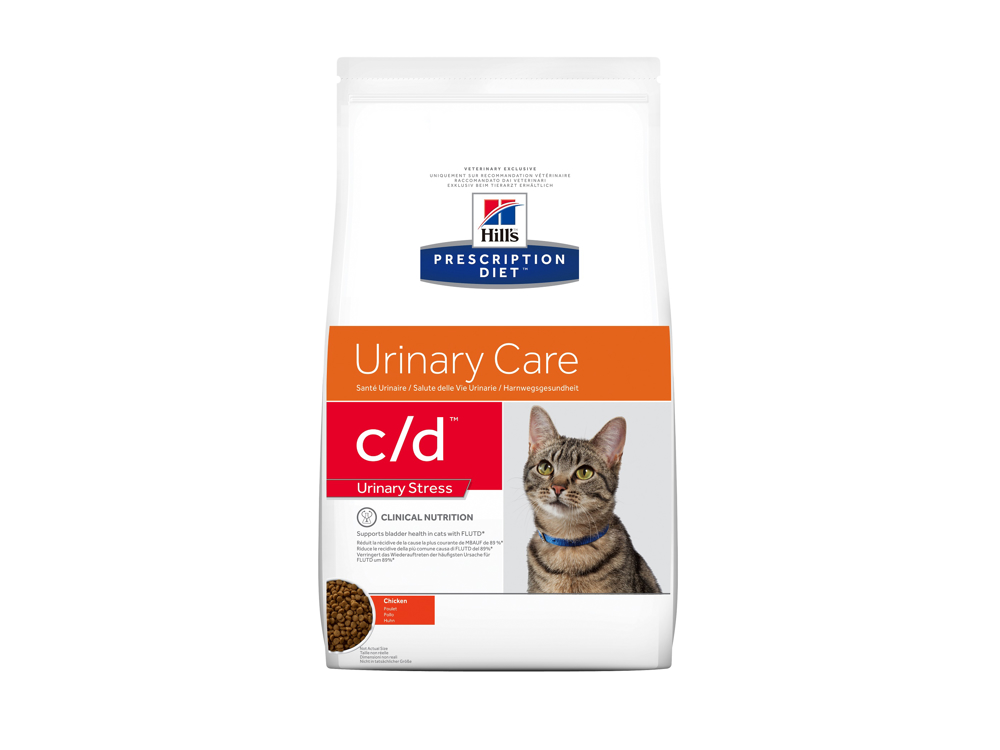 HILL'S PRESCRIPTION DIET FELINE C/D URINARY CARE URINARY STRESS WITH CHICKEN KATTEMAT