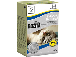 BOZITA INDOOR/STERILISE KISSANRUOKA