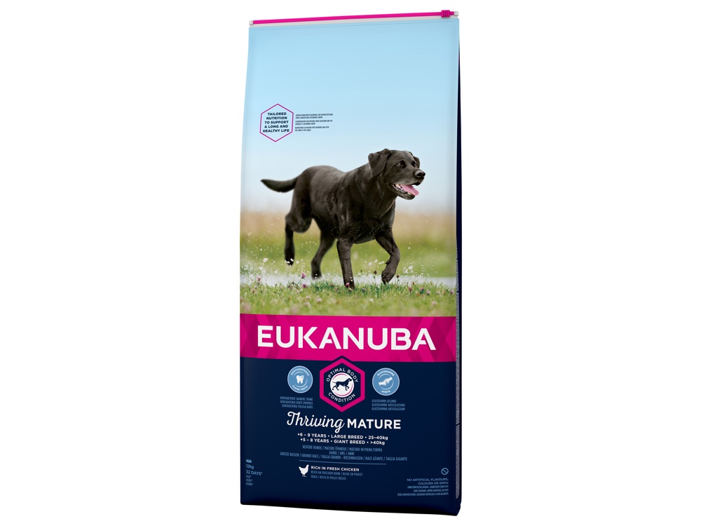 EUKANUBA THRIVING MATURE LARGE KOIRANRUOKA