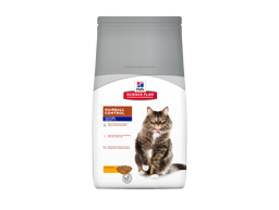 HILL'S SCIENCE PLAN FELINE MATURE ADULT 7+ HAIRBALL CONTROL CHICKEN KATTMAT