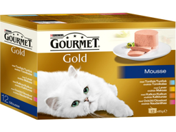 PURINA GOURMET GOLD MOUSSE KATTEMAD