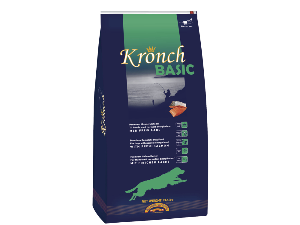 HENNE PET KRONCH BASIC HUNDEFÔR