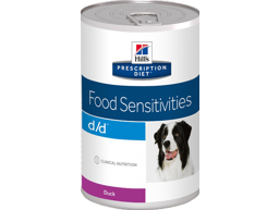 HILL'S PRESCRIPTION DIET CANINE D/D FOOD SENSITIVITIES WITH DUCK HUNDEFODER