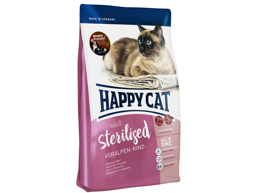HAPPY CAT ADULT STERILISED OKSE KATTEMAD