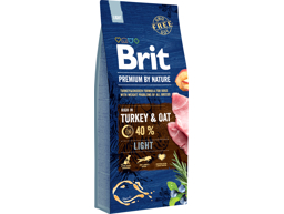 BRIT PREMIUM BY NATURE LIGHT HUNDEFODER