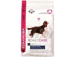 EUKANUBA DAILY CARE OVERWEIGHT/STERILISED HUNDEMAD