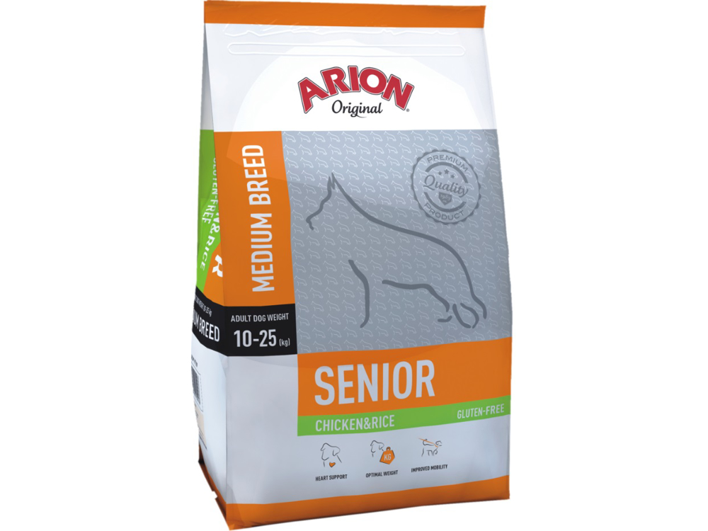 ARION ADULT MEDIUM SENIOR HUNDFODER