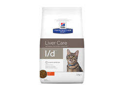 HILL'S PRESCRIPTION DIET FELINE L/D LIVER CARE WITH CHICKEN KATTEMAD