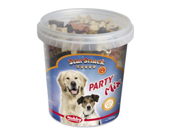 NOBBY STARSNACK PARTY MIX HUNDGODIS