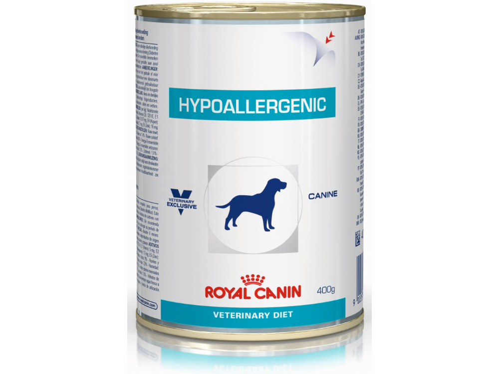 ROYAL CANIN VETERINARY DIET CANINE HYPOALLERGENIC HUNDFODER