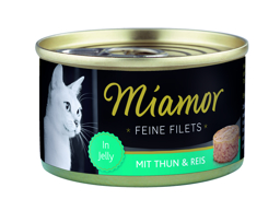 MIANOR FILET TONFISK/RIS KATTMAT