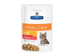 HILL'S PRESCRIPTION DIET FELINE C/D URINARY CARE STRESS WITH SALMON KATTEMAD