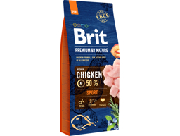 BRIT PREMIUM BY NATURE SPORT HUNDEFÔR