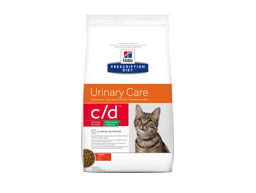 HILL'S PRESCRIPTION DIET FELINE C/D URINARY CARE URINARY STRESS REDUCED CALORIE WITH CHICKEN KATTEMAD