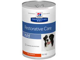 HILL'S PRESCRIPTION DIET CANINE N/D RESTORATIVE CARE WITH CHICKEN HUNDEFODER