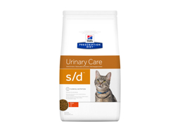 HILL'S PRESCRIPTION DIET FELINE S/D URINARY CARE WITH CHICKEN KATTEMAD