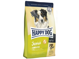 HAPPY DOG JUNIOR LAM OG RIS HUNDEFODER