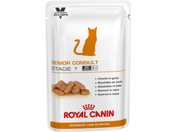 ROYAL CANIN VETERINARY CARE NUTRITION FELINE SENIOR CONSULT STAGE 1 KATTEMAT