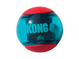 KONG SQUEEZZ ACTION BALL HUNDLEKSAK