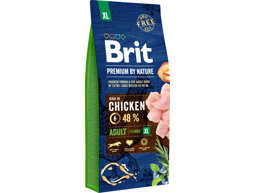 BRIT PREMIUM BY NATURE ADULT XL HUNDEFODER