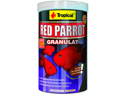 TROPICAL RED PARROT FISKFODER