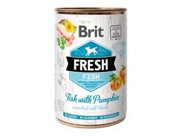 BRIT FRESH FISH & PUMPKIN HUNDEFODER